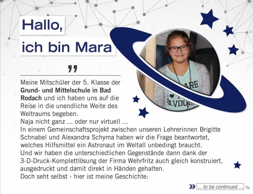 Maras Weltraum Werkzeug Ausgabe 01/2018