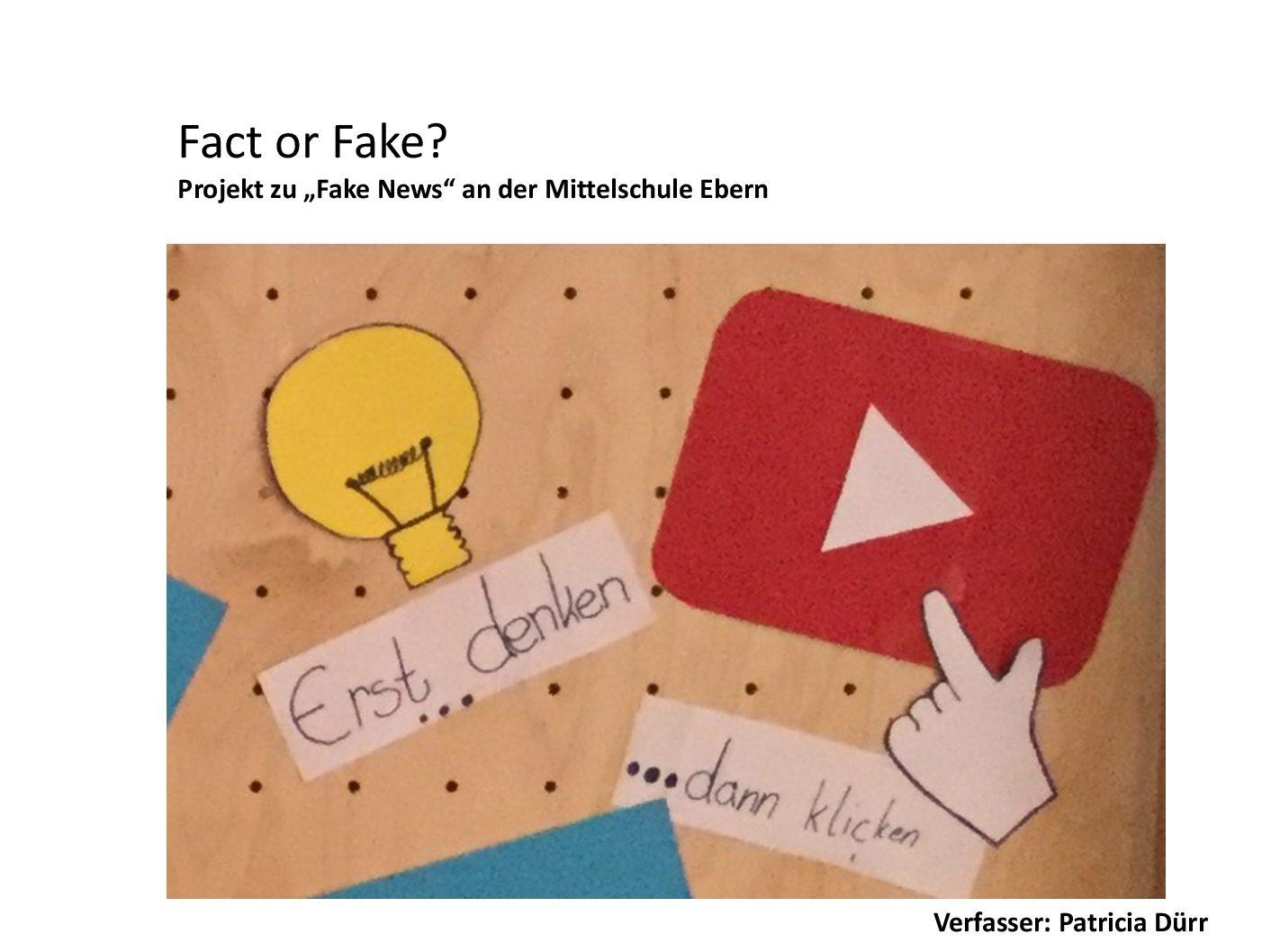 Dokumentation fact or fake