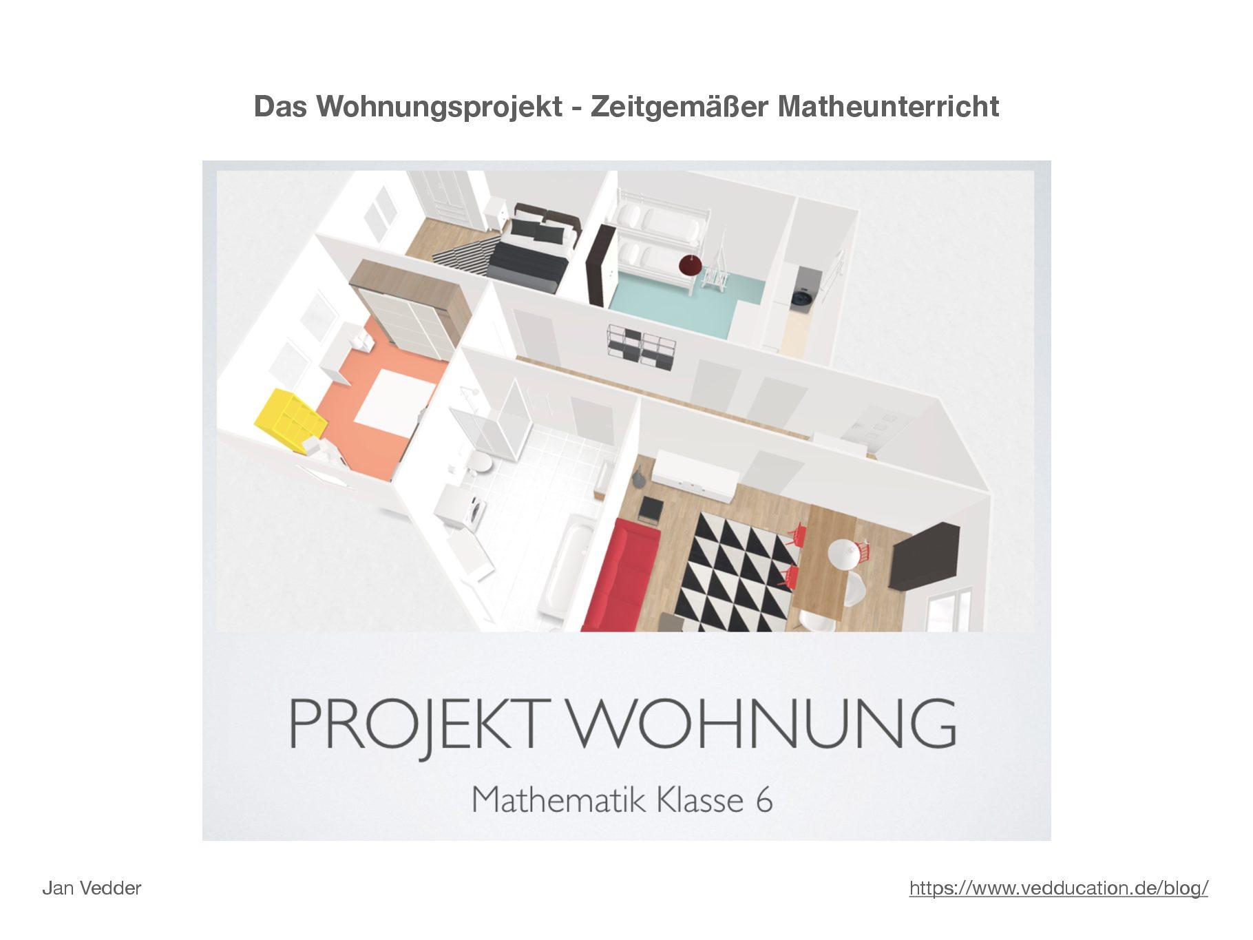 Dokumentation Wohnungsprojekt – Zeitgemäßer Matheunterricht