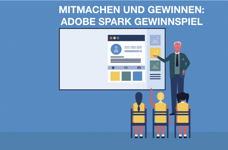 Adobe Spark Contest – Ausgabe 02/2019