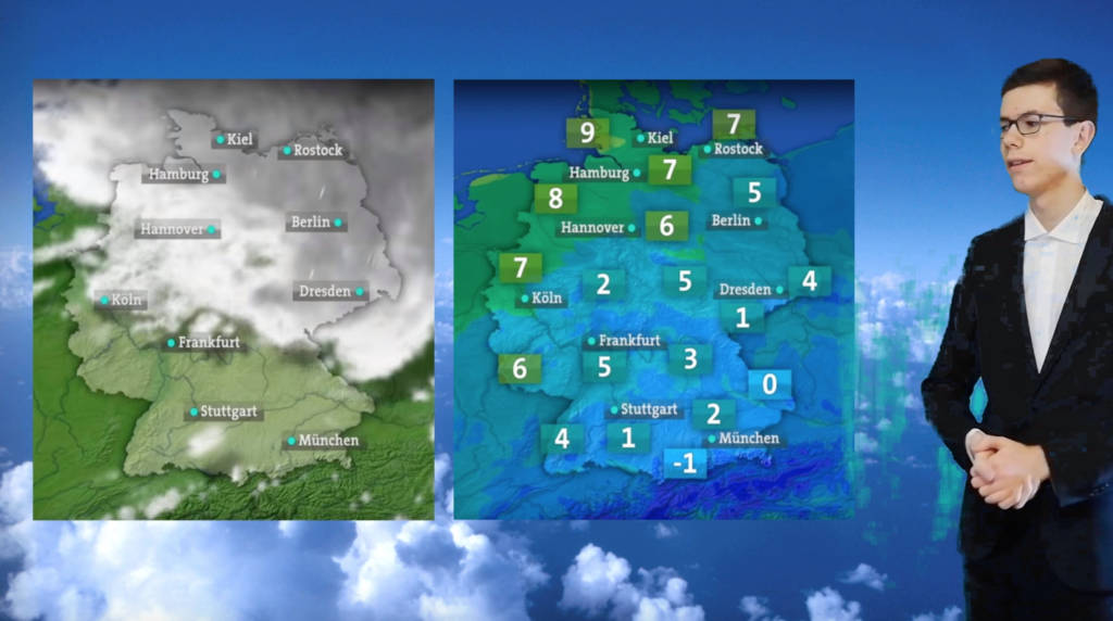 Praxisbeispiel: Greenscreen-Wetterbericht Ausgabe 01/2020