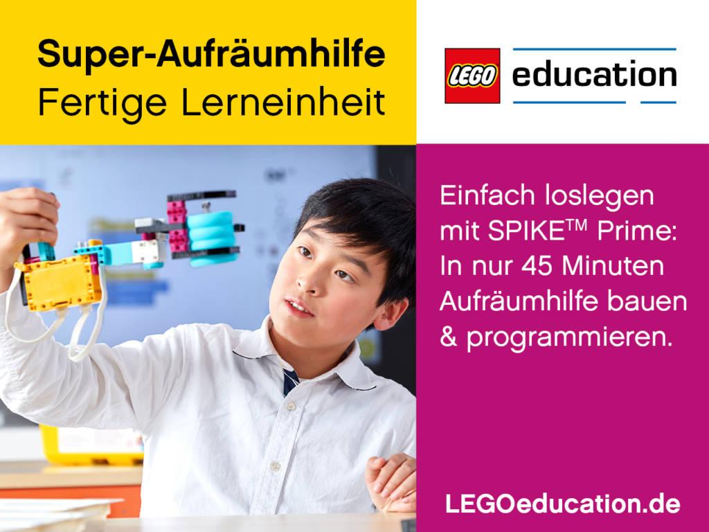 LEGO SPIKE Prime Unterrichtsvorbereitung Ausgabe 01/2020