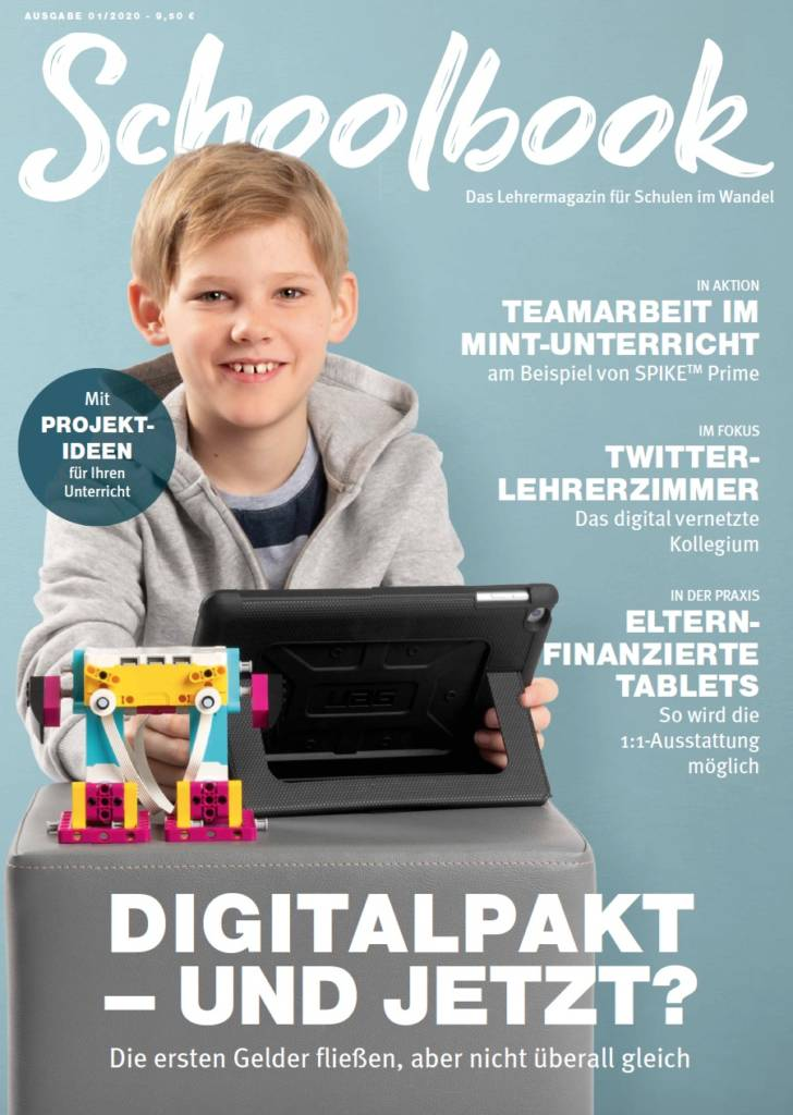 Schoolbook - Das Lehrermagazin für Schulen im Wandel Ausgabe 01/2020